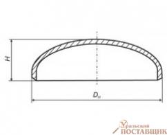 Днище эллиптическое ТУ 102-488-05